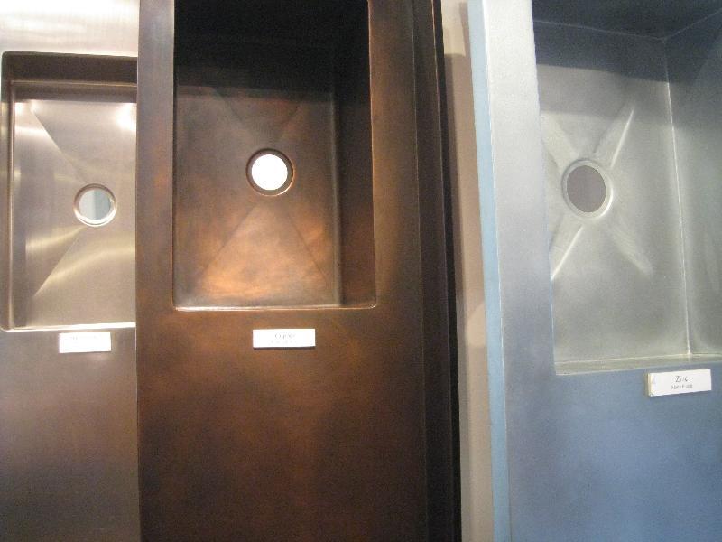 Zinc Applications in Interior Design Bathroom