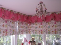 Girl's bedroom shades after