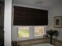 Master Bath Window Treatment design