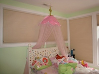 Girl's bedroom before