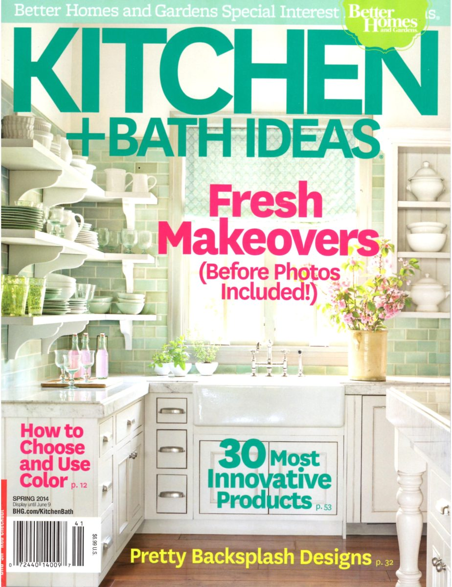 Kitchen And Bath Ideas   Spring 2014 Cover