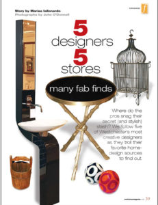 Westchester Home Magazine - Winter 2009 page 39