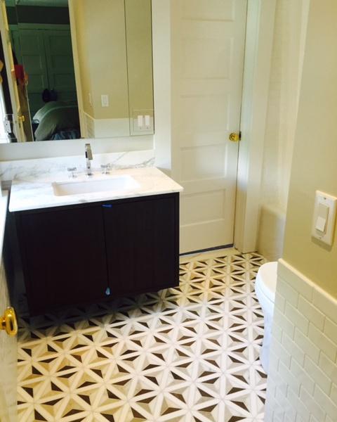 Susan Marocco Interiors - Bathroom Sink Renovation After