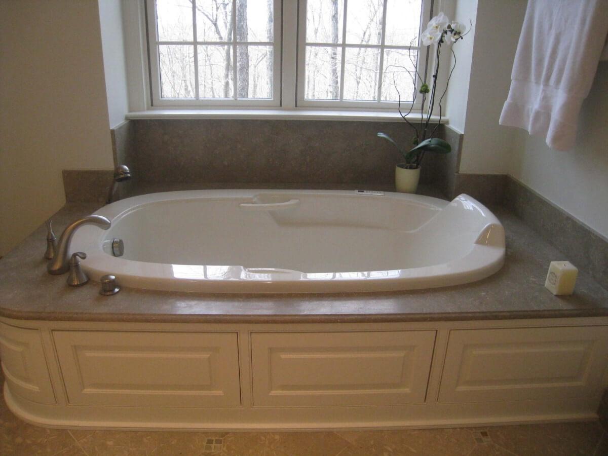 Master Bathroom Remodel by Susan Marocco - Bedford NY 1454