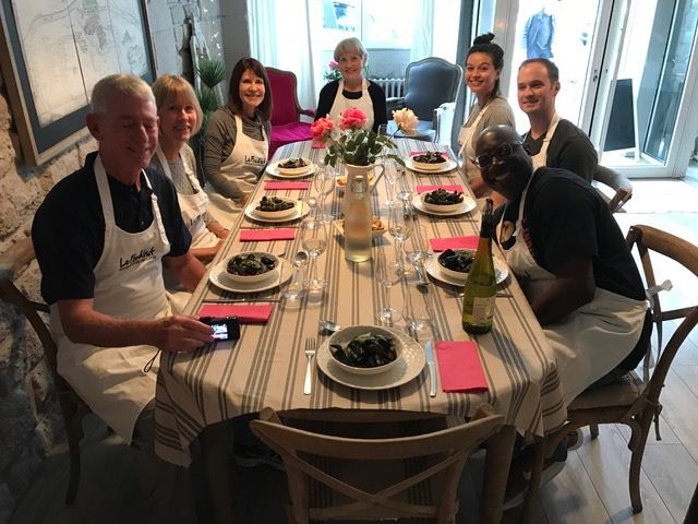 Susan Marocco Interiors - Dinner with Parisians