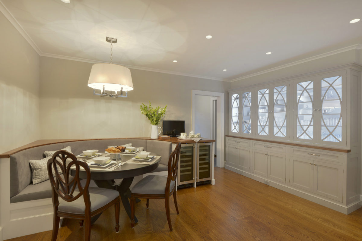 Kitchen Renovations Another Option To Incorporating A Center Island Susan Marocco Interiors