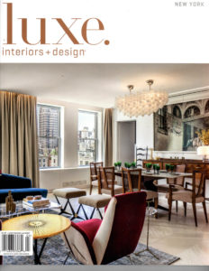 Luxe Interiors + Design - Mar Apr 2018 - Cover