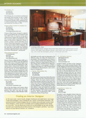 Westchester Home - Annual 2008