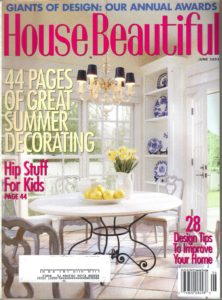 House Beautiful - June 2003 cover