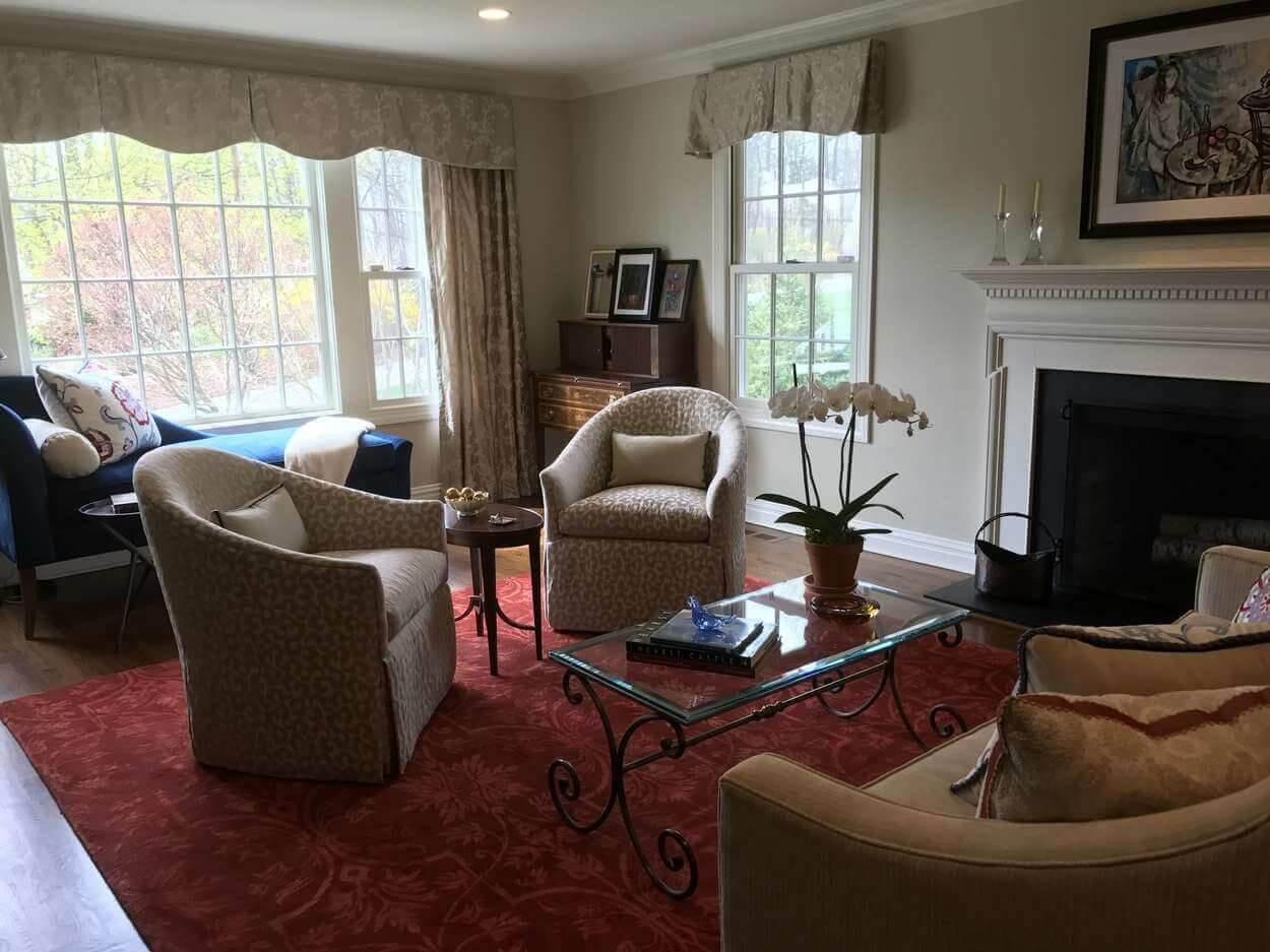 Chappaqua NY - Living Room Design - 3931