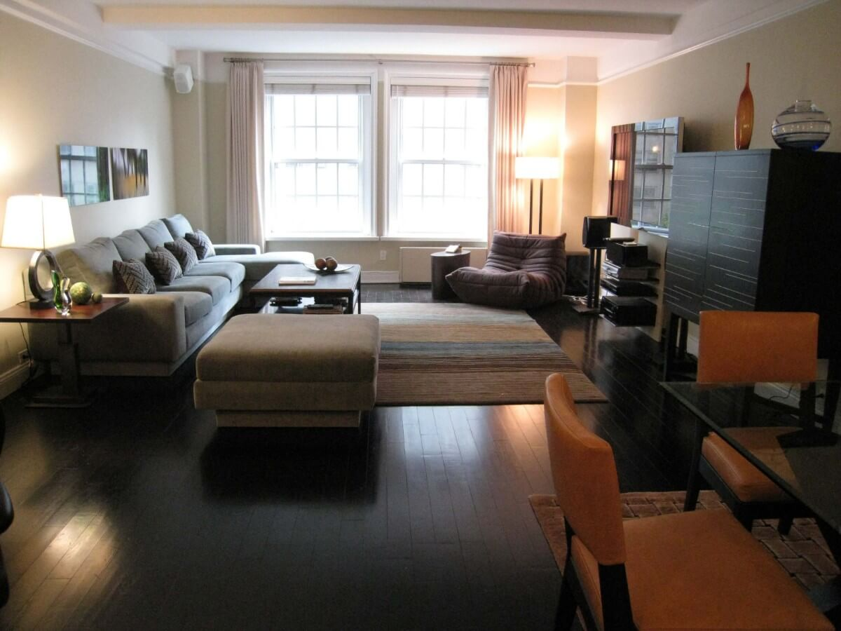 Contemporary Living Room Design by Susan Marocco - MANHATTAN NY 0131