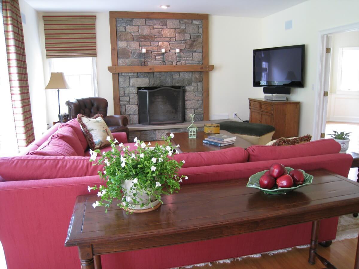 Family Room Designs by Susan Marocco Interiors - 0551