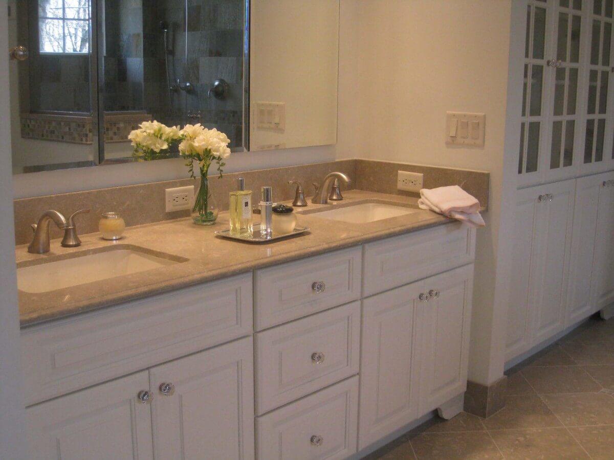 Master Bathroom Remodel by Susan Marocco - Bedford NY 1430