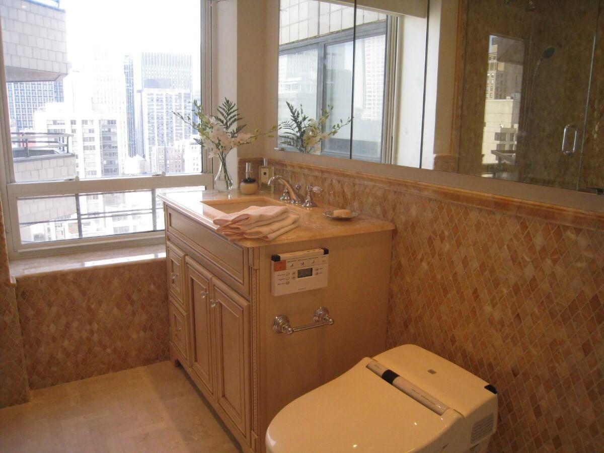 Master Bathroom Remodel by Susan Marocco - Manhattan NY 2437