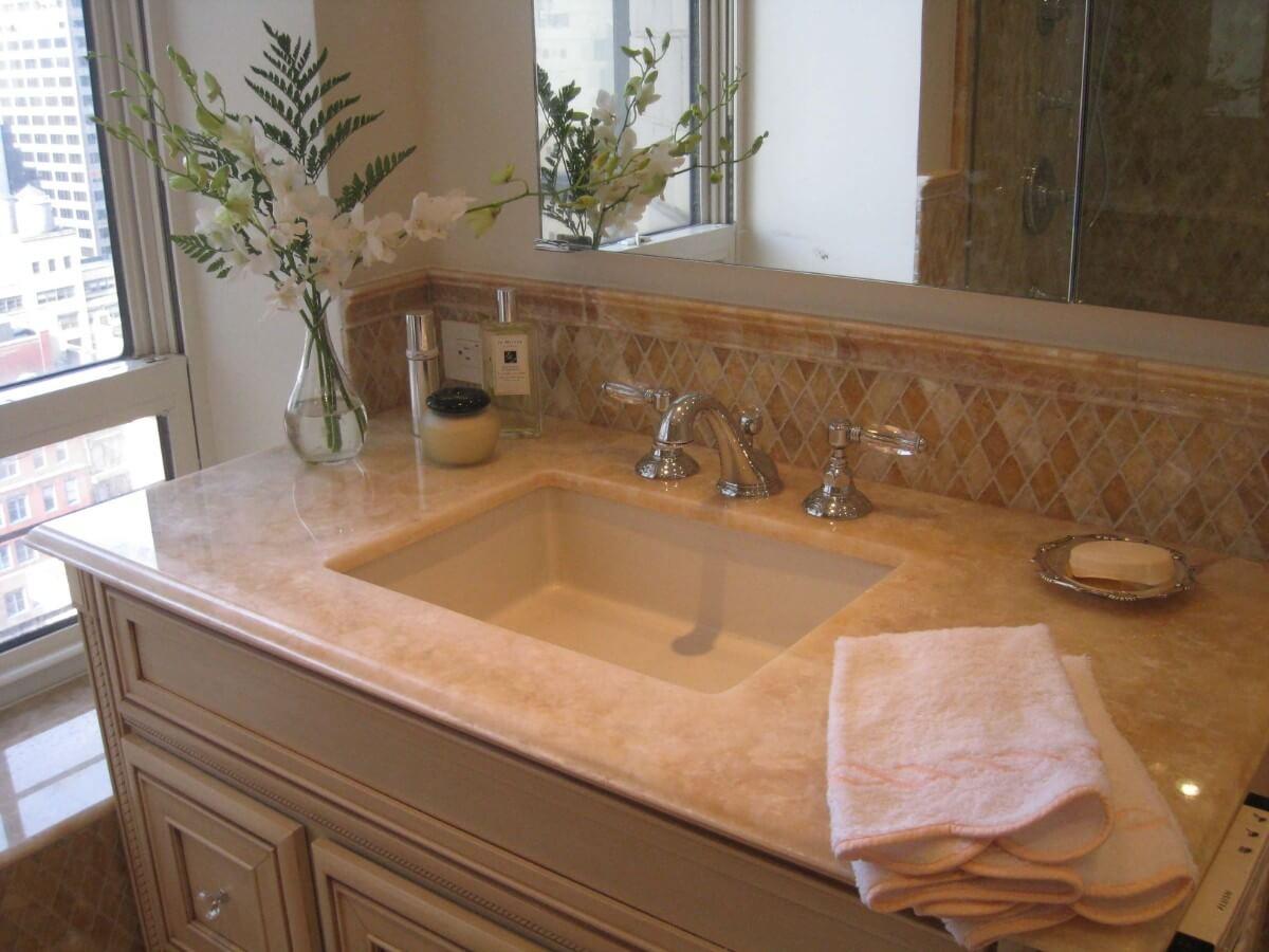 Master Bathroom Remodel by Susan Marocco - Manhattan NY 2440
