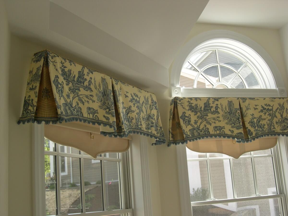 1985 Window Treatment Ideas by Susan Marocco Interiors