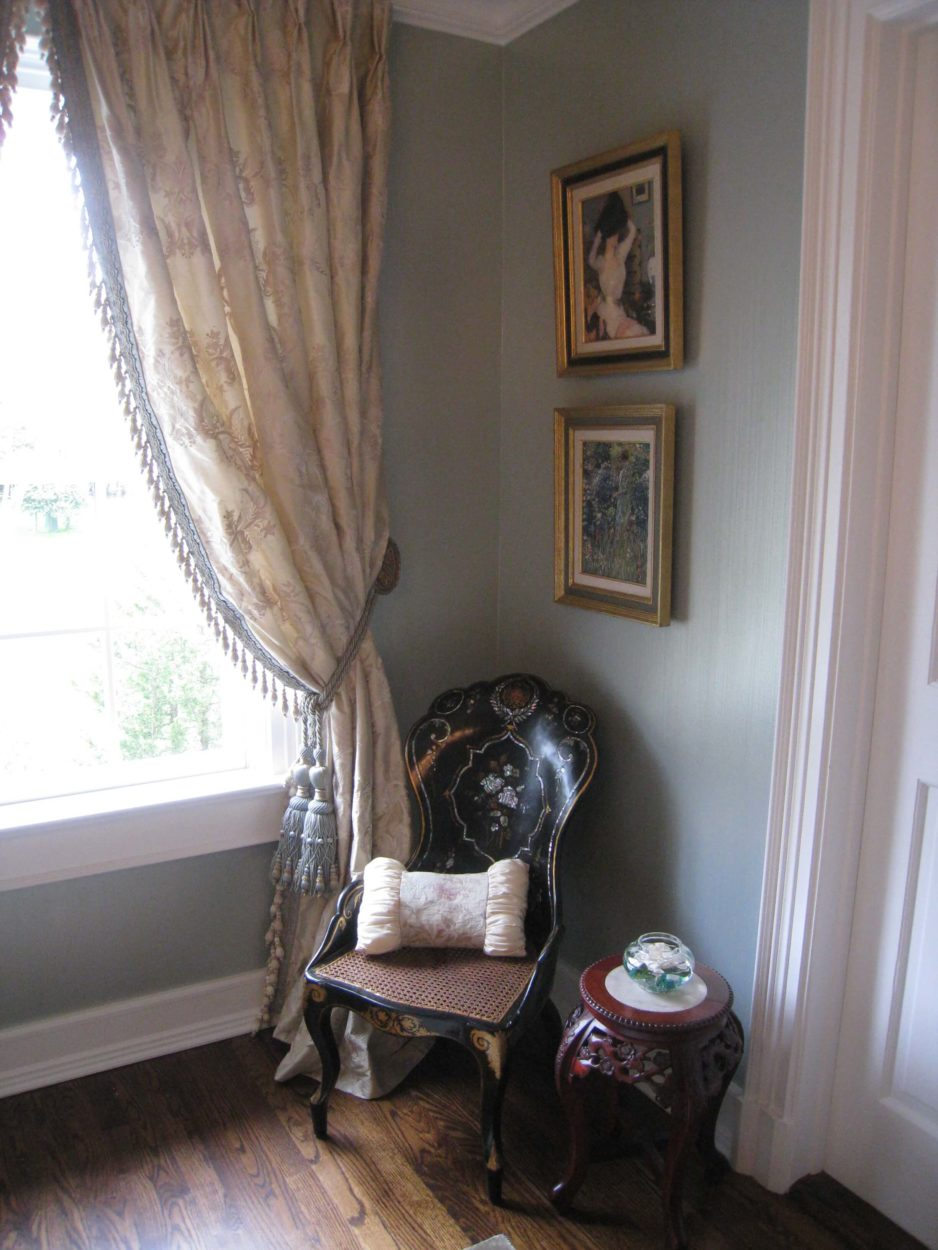 2533 Show House Bedroom Design by Susan Marocco Interiors - Bedford NY