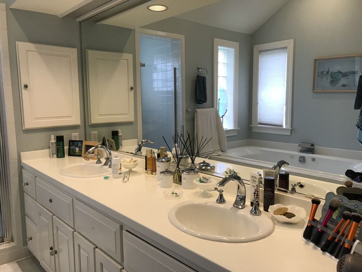 Susan Marocco Interiors - Master Bathroom Design NY