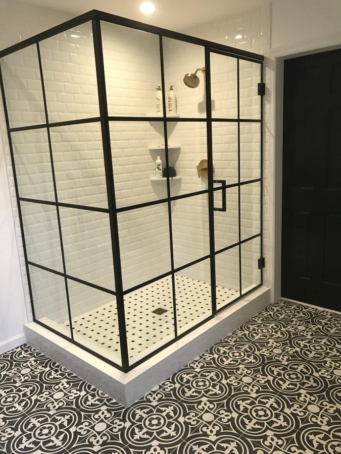 Shower Renovation After - Susan Marocco Interiors